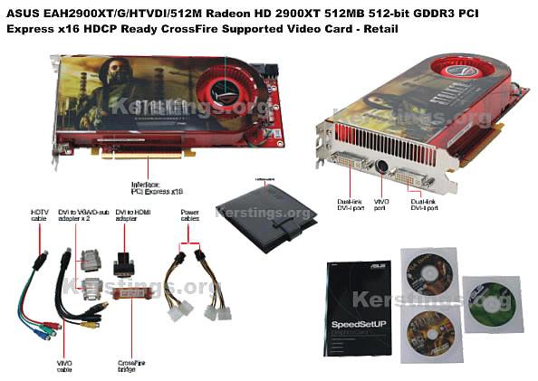 Kersting Computers Inc  - ASUS EAH2900XT, Asus Video Cards