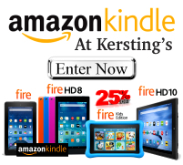 Amazon Kindle Fire at Kersting Computers